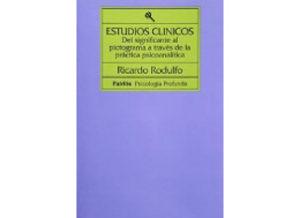 Ricardo Rodulfo, Estudios Clínicos. Del significante al pictograma