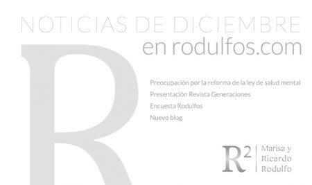 Novedades del mes de diciembre en Rodulfos