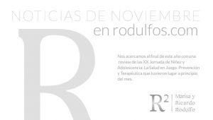 Noticia del mes de Noviembre en Rodulfos.com