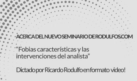Acerca del nuevo Seminario de Rodulfos.com