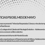 Noticias de Psicoanálisis del mes de Mayo en Rofulfos